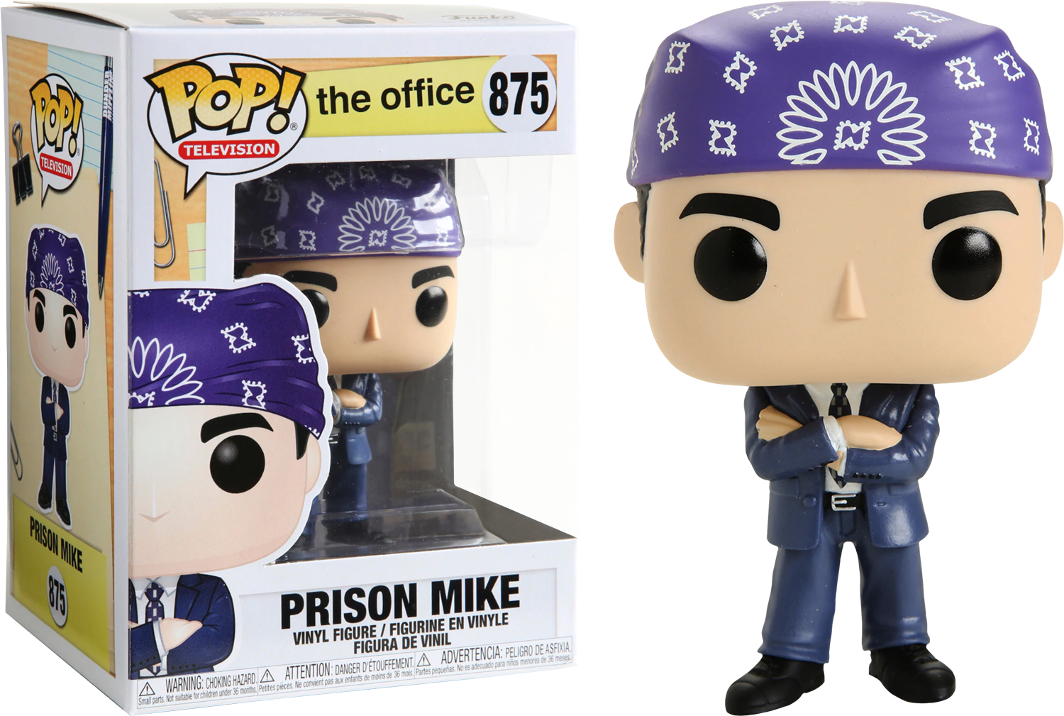The Office - Prison Mike Pop! Vinyl Figure