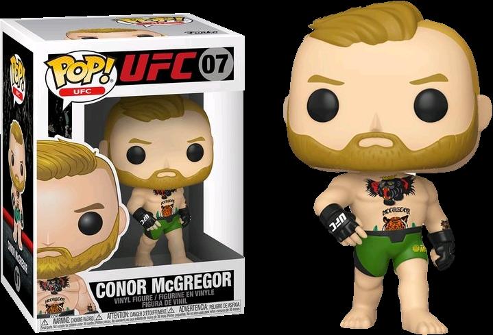 UFC - Conor McGregor with Green Shorts Pop! Vinyl Figure