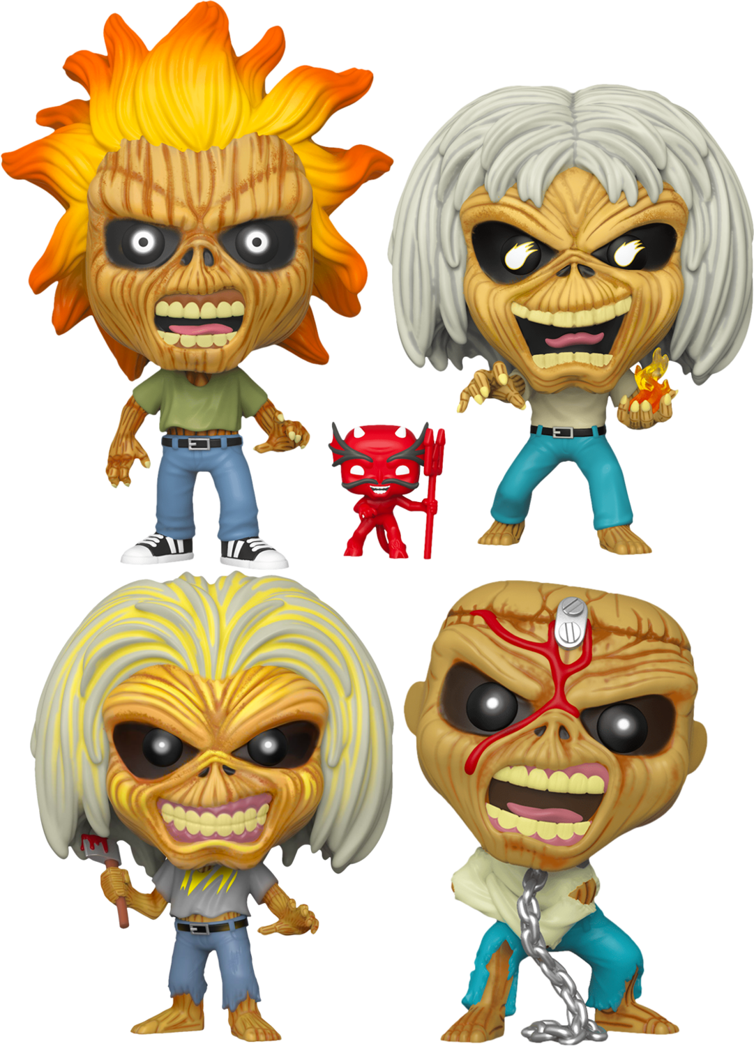 Iron Maiden - The Number of the Pop! Vinyl