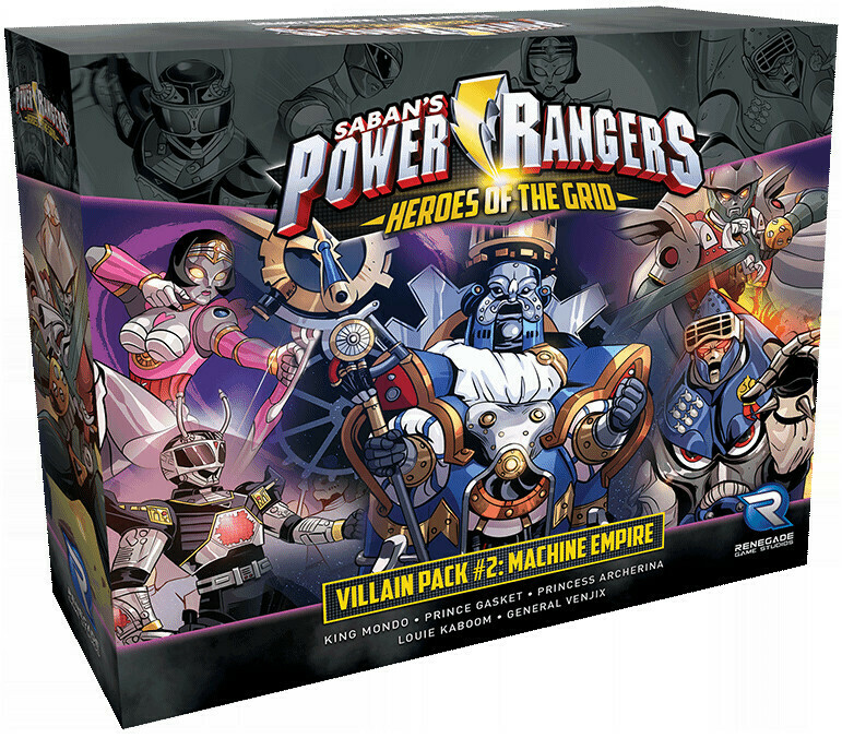 Power Rangers Heroes of the Grid - Villain Pack 2 - Machine Empire