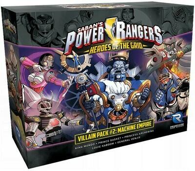 Power Rangers Heroes of the Grid - Villain Pack 2 - Machine Empire