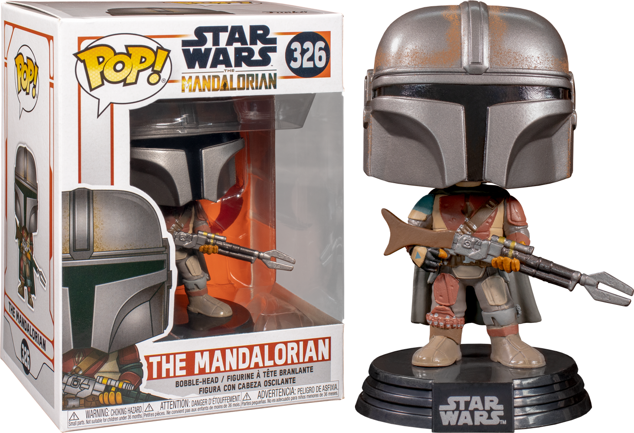 Star Wars: The Mandalorian - The Mandalorian Pop! Vinyl Figure