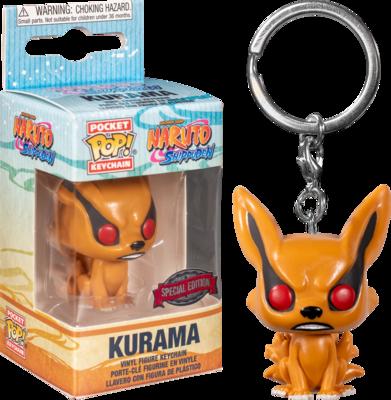 Naruto: Shippuden - Kurama Pocket Pop! Vinyl Keychain