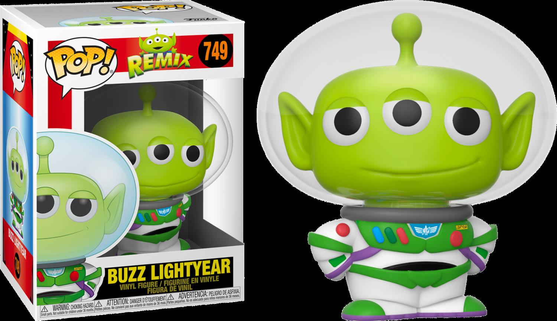 Pixar - The Chosen Alien Remix Pop! Vinyl Figure