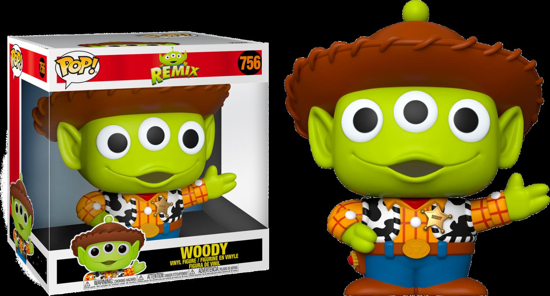 """Pixar - Alien Remix Woody 10"""" Pop! Vinyl Figure"""
