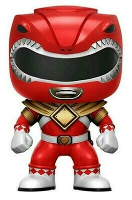 Mighty Morphin Power Rangers- Red Ranger with Dragon Shield Pop! Vinyl 108