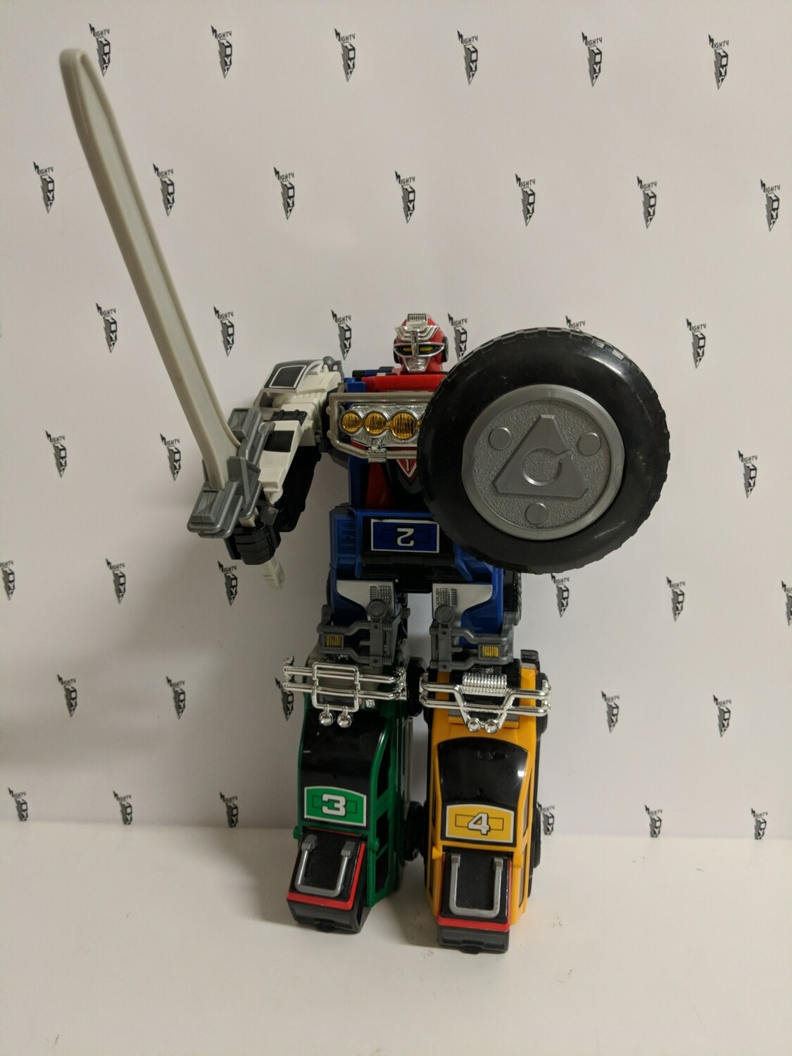Power Rangers Turbo Megazord original 1997