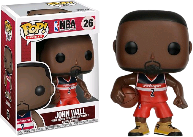 NBA - John Wall Pop! Vinyl Figure (NFR)