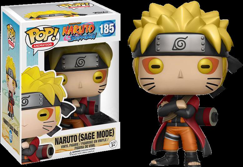 Naruto Shippuden - Naruto (Sage Mode) US Exclusive Pop! Vinyl
