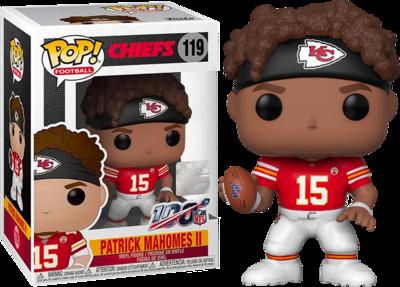 NFL Football - Patrick Mahomes II Kansas City Chiefs Pop! Vinyl Figure