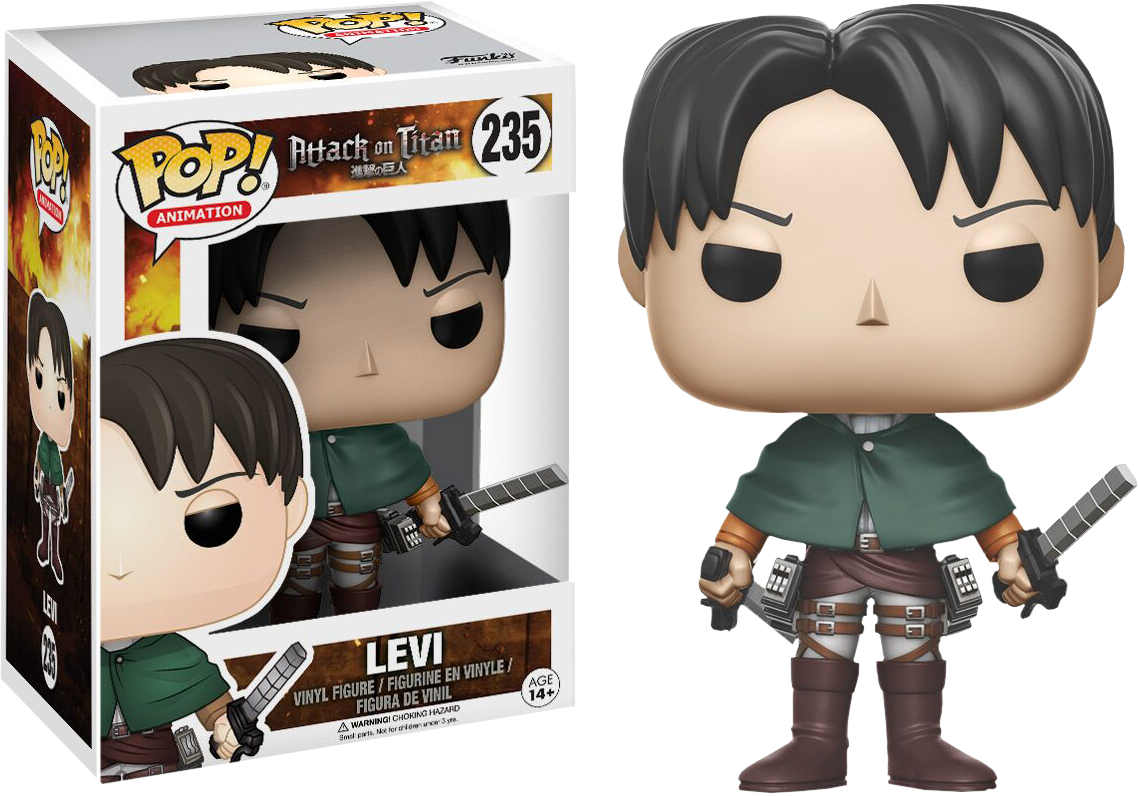Pre-Order: Attack on Titan - Levi Pop! Vinyl Figure