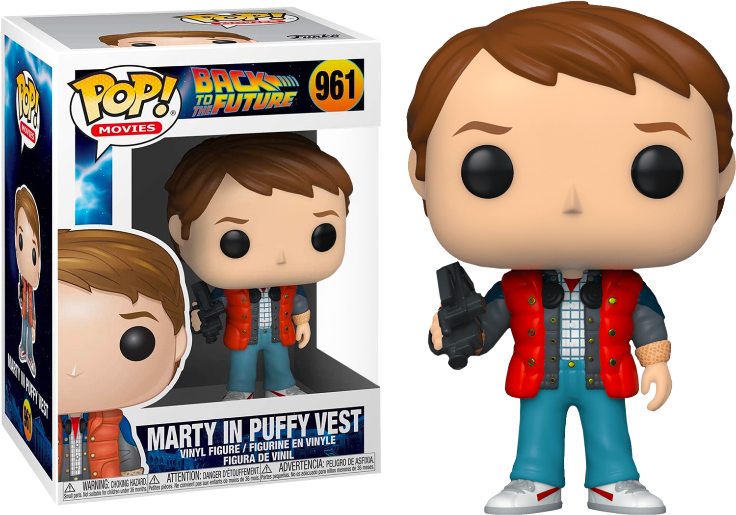 Back To The Future - Marty McFly with Video Camera Pop! Vinyl Figure