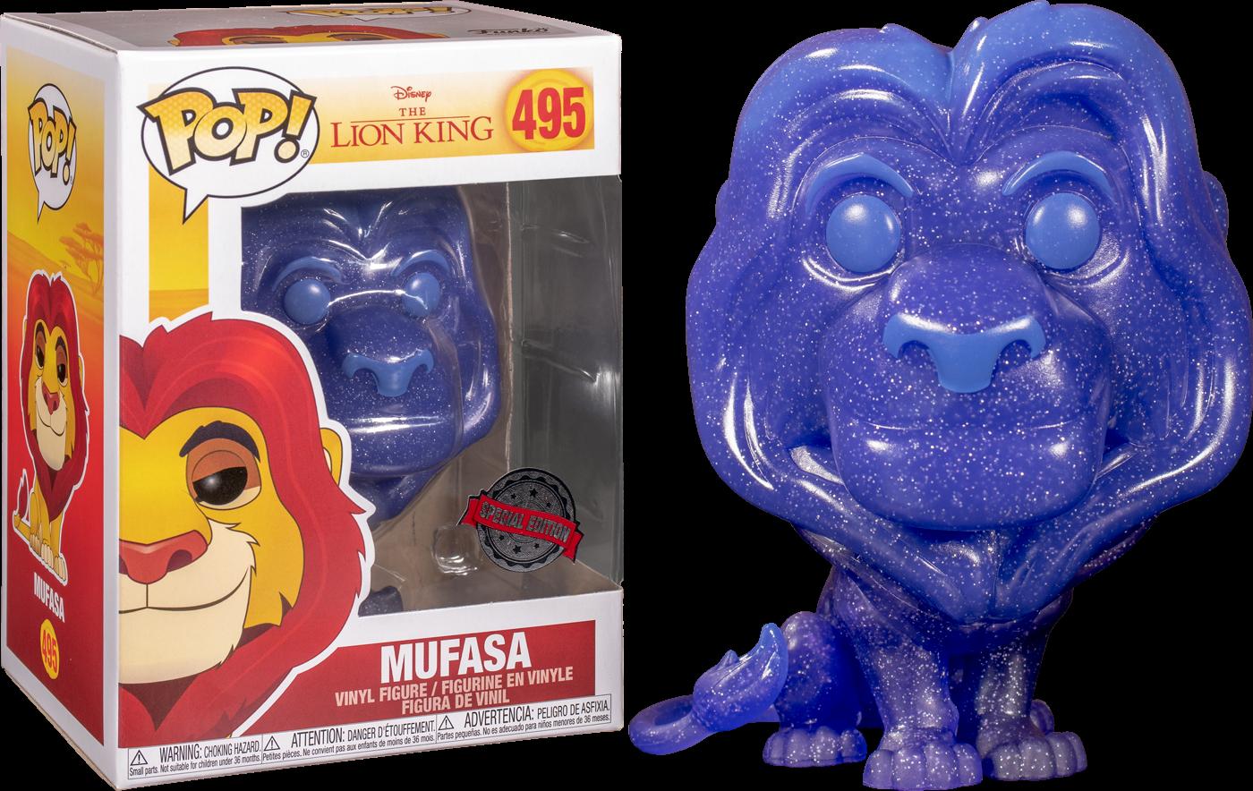 The Lion King - Spirit Mufasa Translucent Glitter Pop! Vinyl Figure