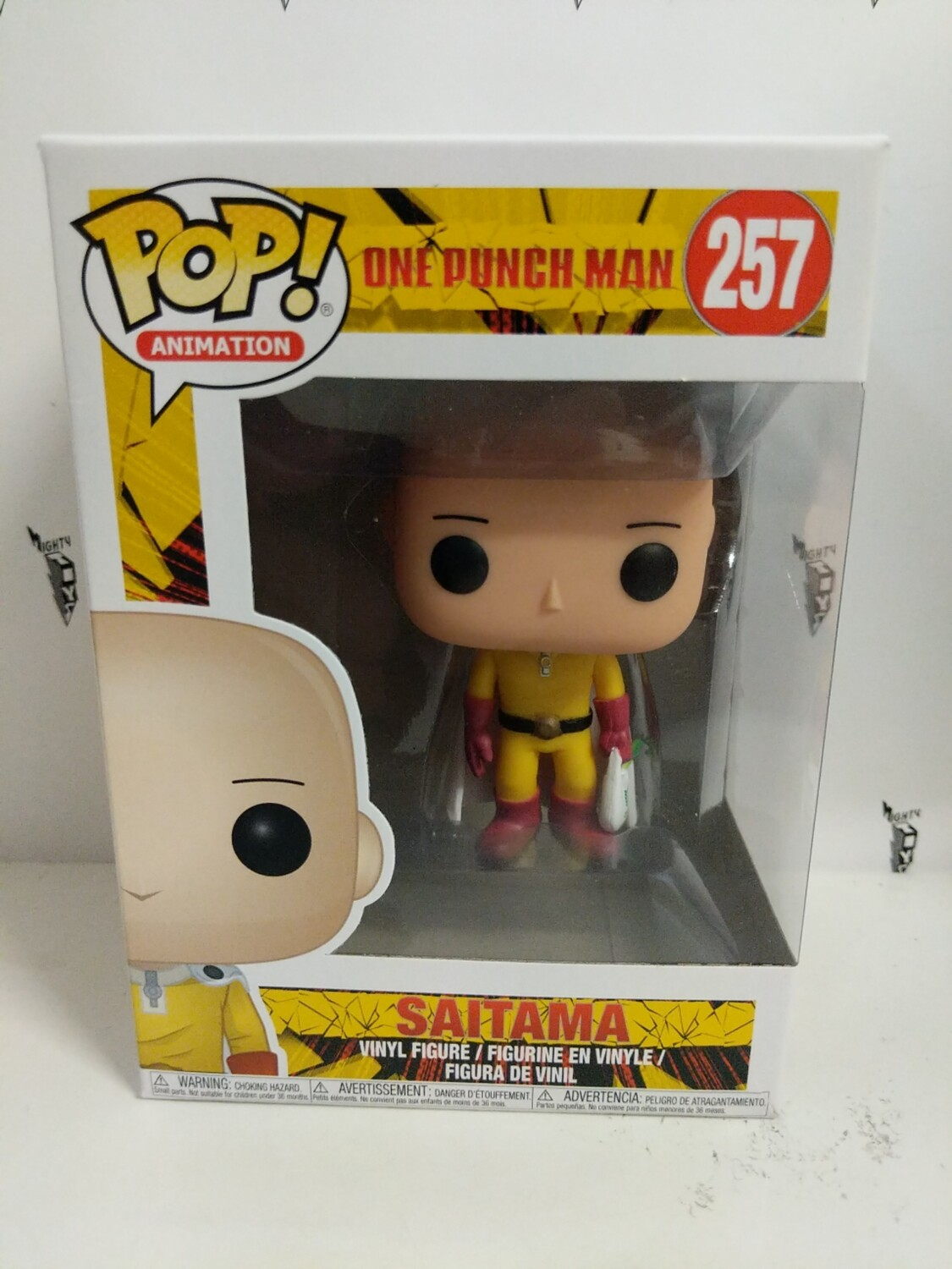 One Punch Man - Saitama Pop! Vinyl Figure (box damaged) - c