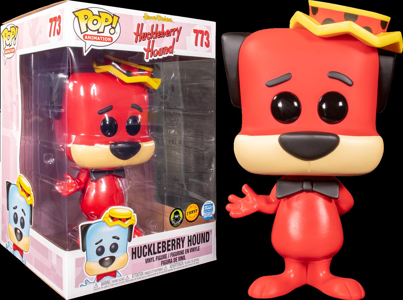 "Hanna Barbera - Huckleberry Hound Chase 10"" Pop! Vinyl Figure"