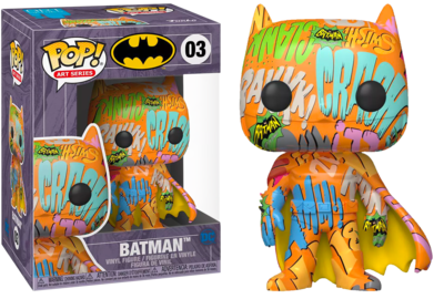 Batman - Batman Orange Artist Series Pop! Vinyl Figure with Pop! Protector