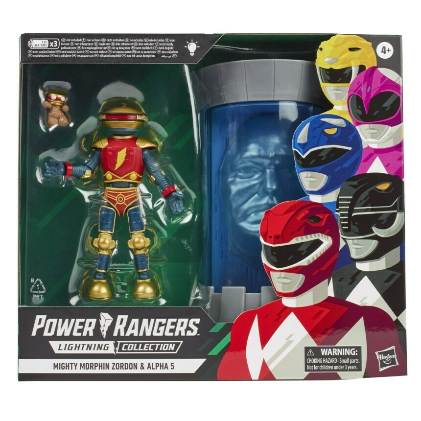 Hasbro Alpha 5 and Zordon Lightning 2 pack