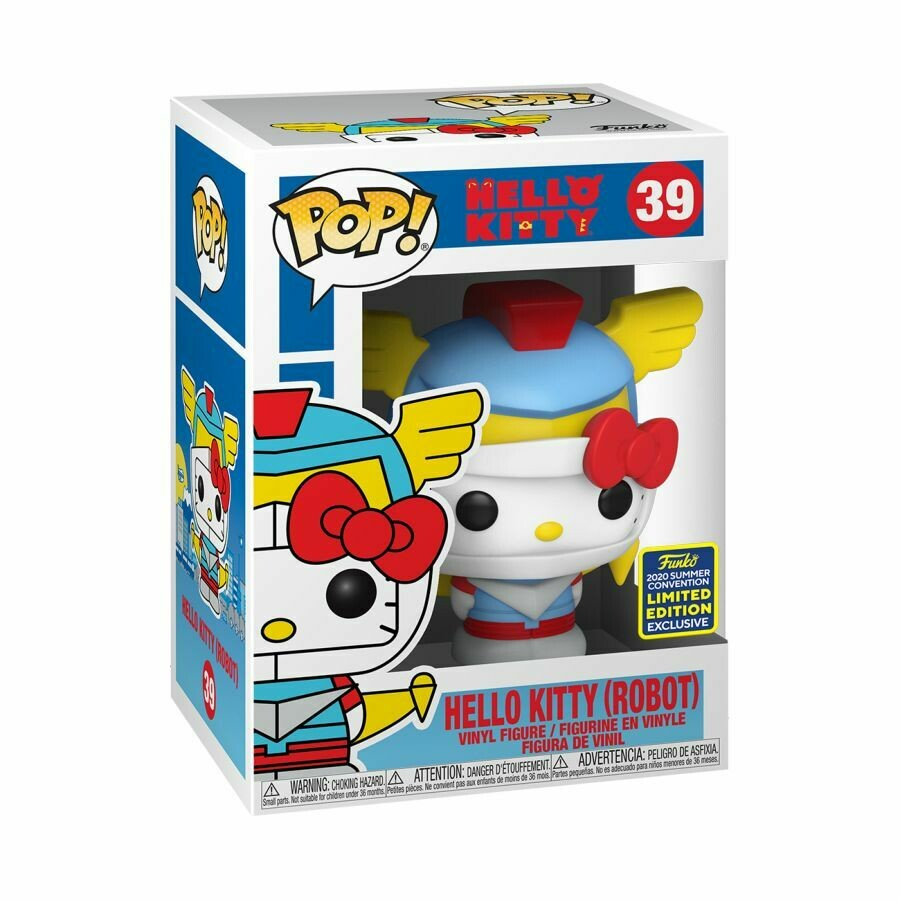 Hello Kitty - Robot Kitty SDCC 2020 US Exclusive Pop! Vinyl