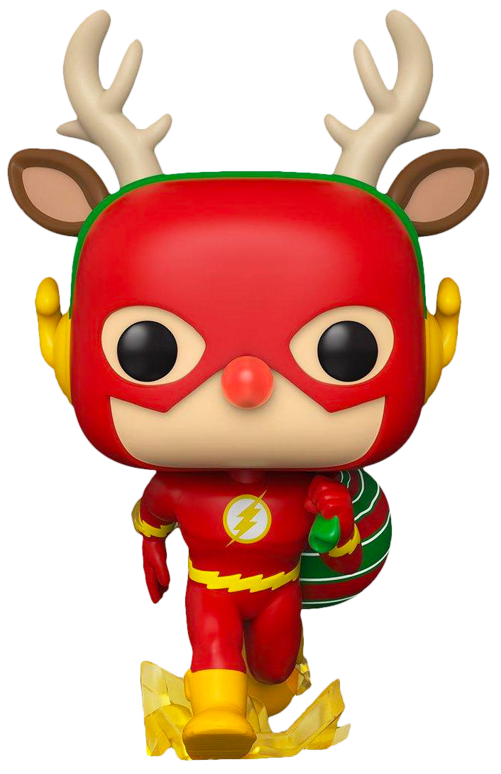 The Flash - The Flash as Rudolph Holiday Pop! Vinyl Figure