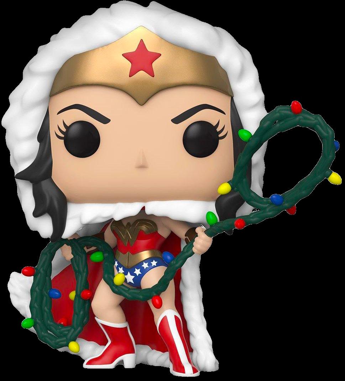 Wonder Woman - Wonder Woman with Christmas Lights Lasso Holiday Pop! Vinyl Figure