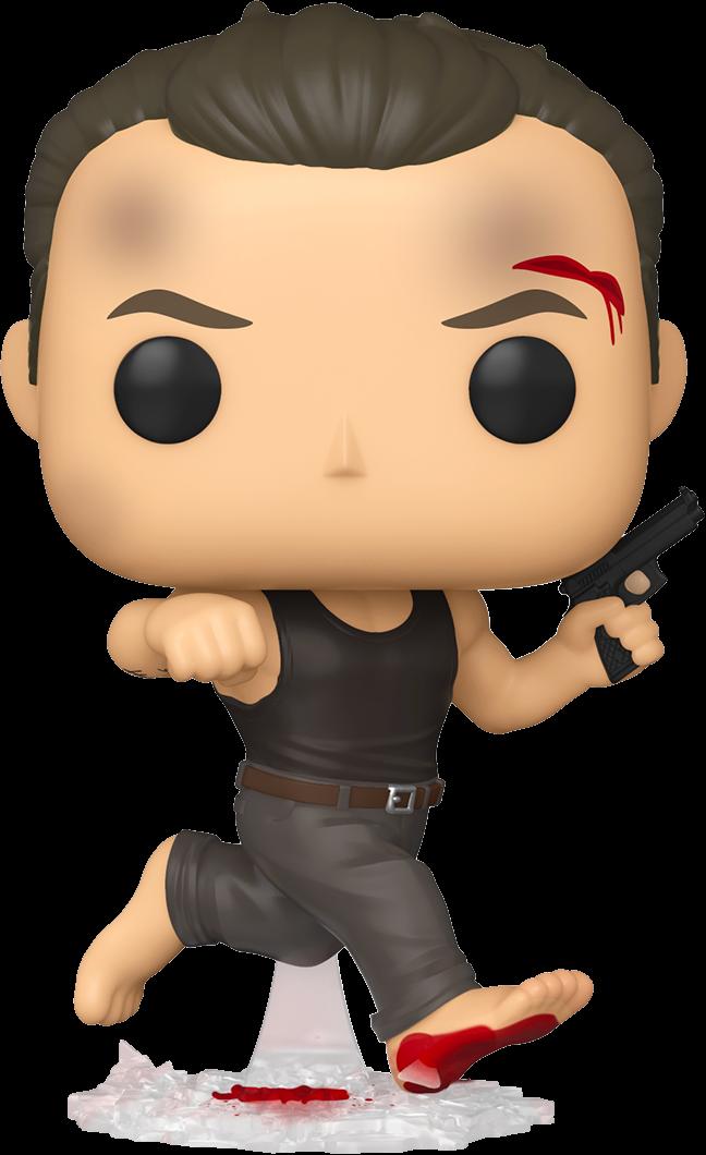 Die Hard - John McClane in Dark Tank Top Pop! Vinyl Figure