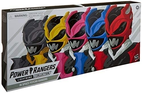 Hasbro Power Rangers Lightning Collection 6-Inch in Space Psycho Rangers 5-Pack Premium Collectible Action Figure