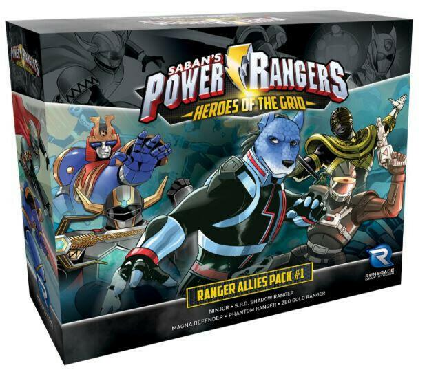 Power Rangers Heroes of the Grid - Ranger Allies Pack