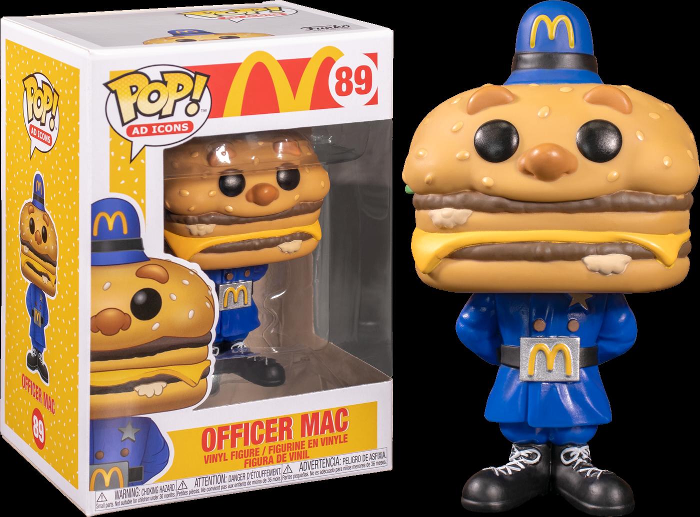 McDonald's - Officer Big Mac Pop! Vinyl Figure