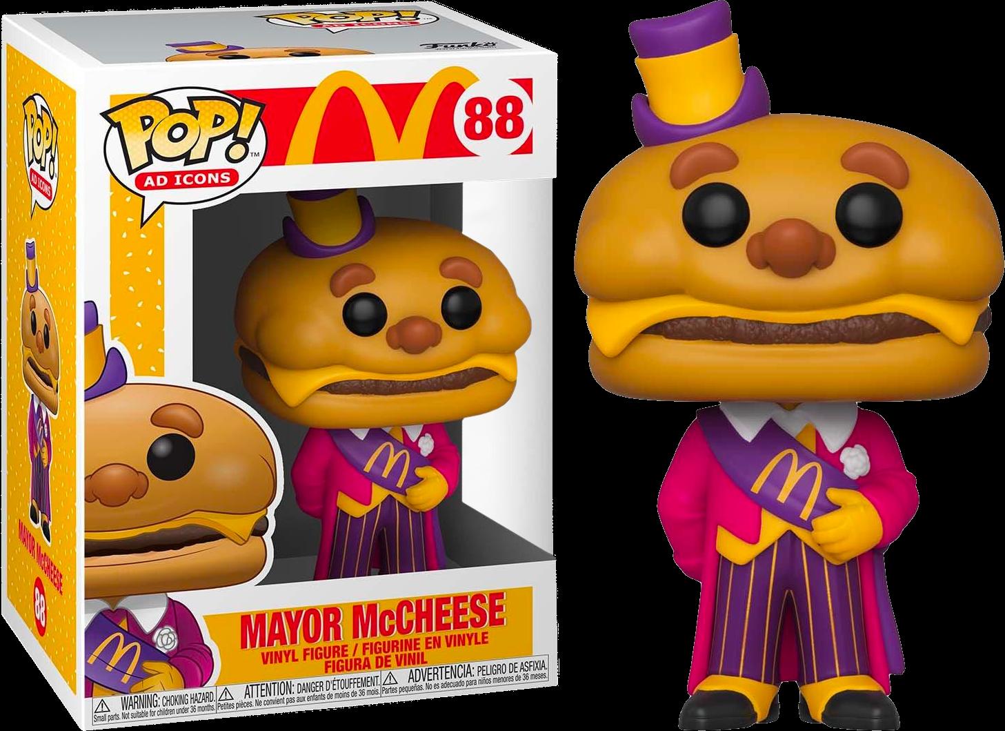McDonald's - Mayor McCheese Pop! Vinyl Figure