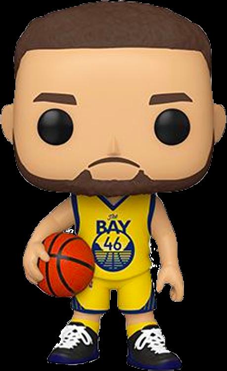 NBA Basketball - Steph Curry Golden State Warriors Alternate Pop! Vinyl Figure