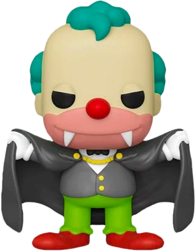 The Simpsons - Vampire Krusty Pop! Vinyl Figure