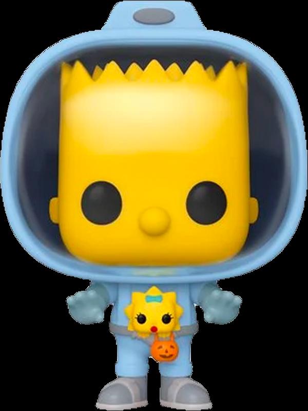 The Simpsons - Bart Simpson with Chestburster Maggie Pop! Vinyl Figure