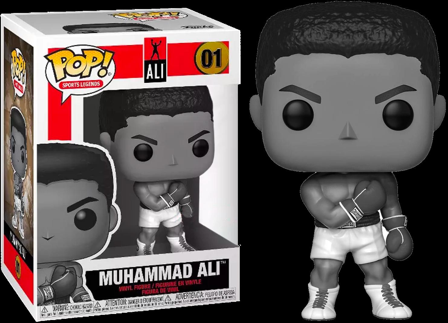 Icons - Muhammad Ali Black & White US Exclusive Pop! Vinyl