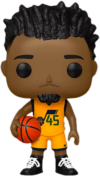 NBA Basketball - Donovan Mitchell Utah Jazz Pop! Vinyl Figure