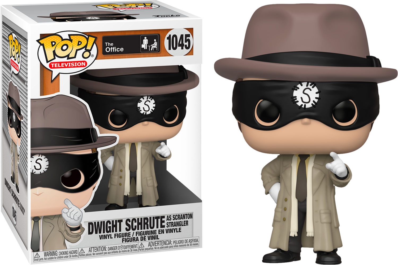 The Office - Dwight Schrute as the Scranton Strangler Pop! Vinyl Figure
