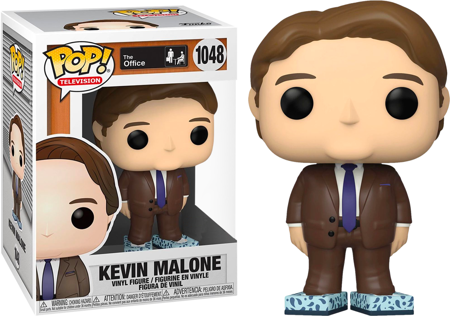 The Office - Kevin Malone with Tissue Box Shoes Pop! Vinyl Figure