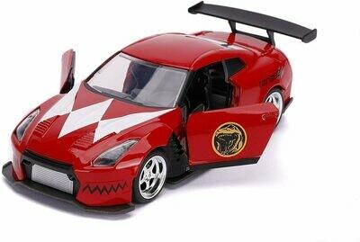 Power Rangers Red Ranger 2009 Nissan GT-R R35 Ben Sopra 1:32 Die - Cast Vehicle