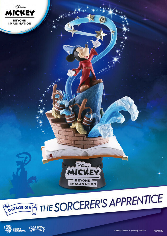 Beast Kingdom D Stage The Sorcerers Apprentice Mickey Mouse