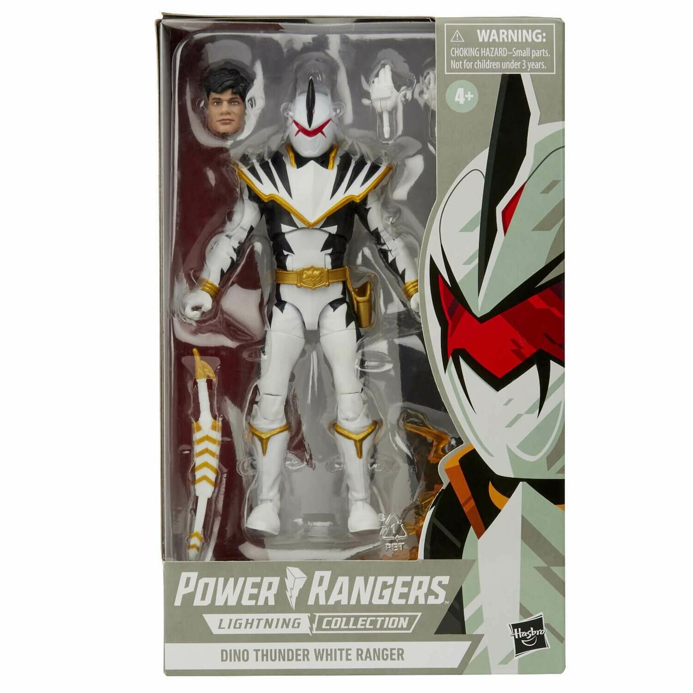 Hasbro Power Rangers Lightning Collection Dino Thunder White Ranger 6 Inch Action Figure