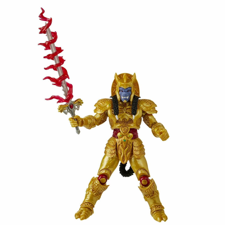 Hasbro Power Rangers Lightning Collection Goldar figurer 6 Inch Action Figure