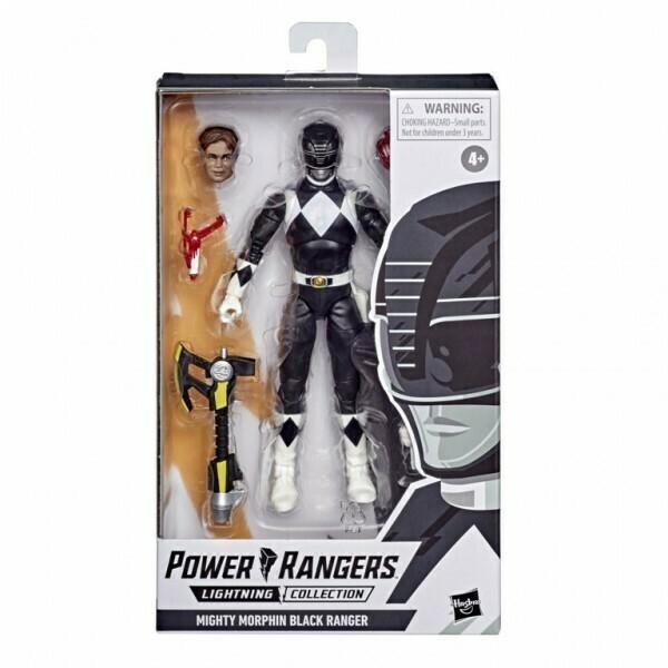 Hasbro Power Rangers Lightning Collection Black Ranger figure 6 Inch Action Figure