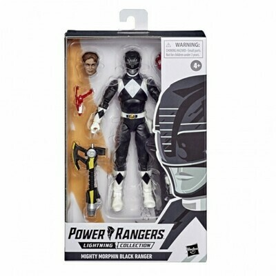 Hasbro Power Rangers Lightning Collection Black Ranger figure 6 Inch Action Figure