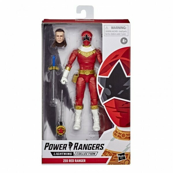 Hasbro Power Rangers Lightning Collection ZEO RED Ranger figure 6 Inch Action Figure