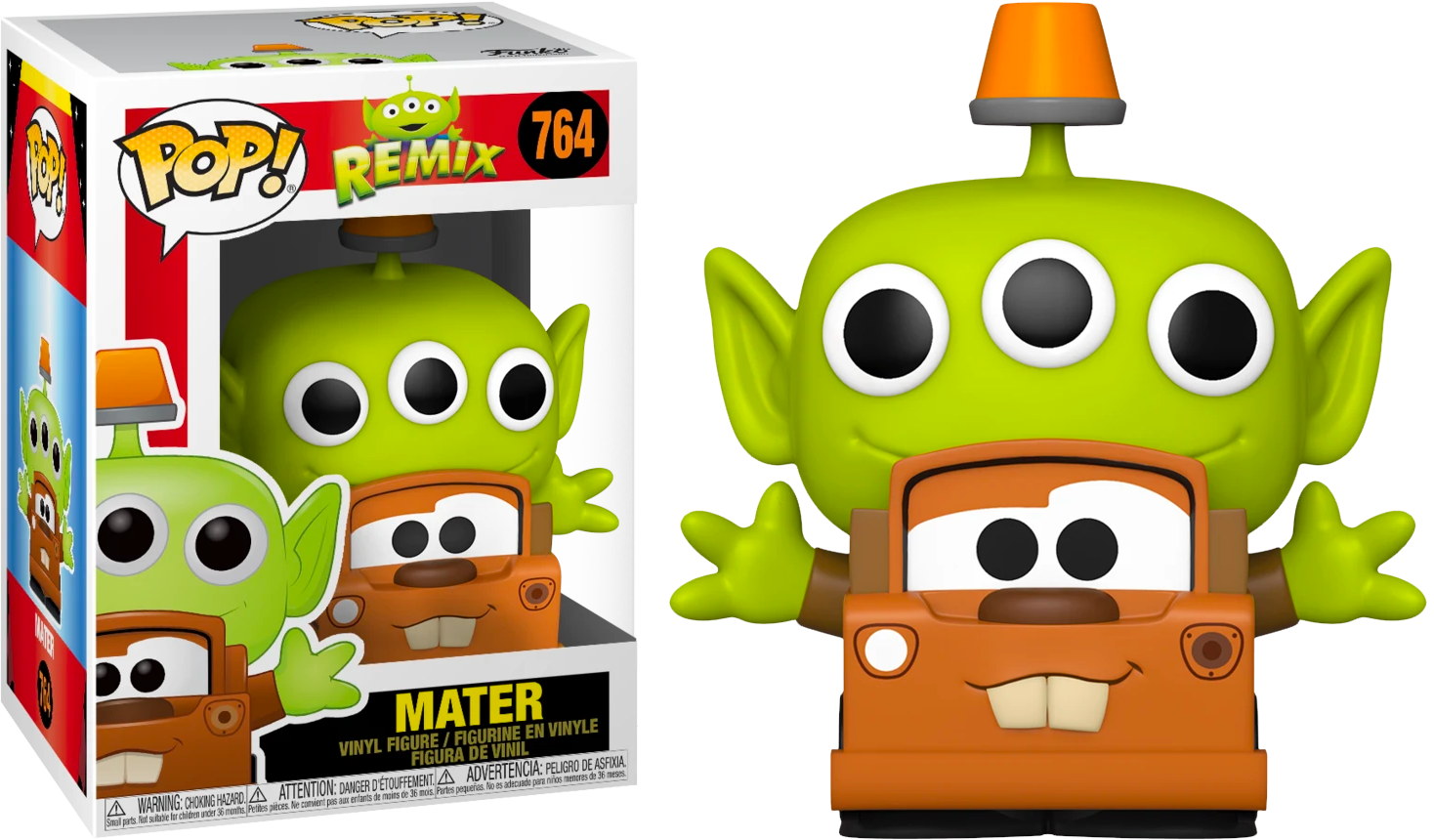 Pixar - Alien Remix Mater Pop! Vinyl Figure