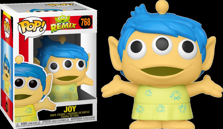 Pixar - Alien Remix Joy Pop! Vinyl Figure