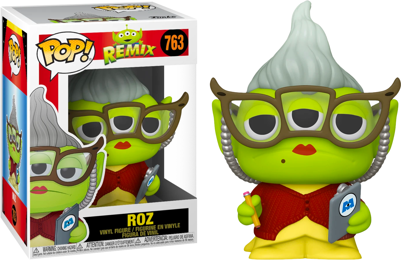 Pixar - Alien Remix Roz Pop! Vinyl Figure
