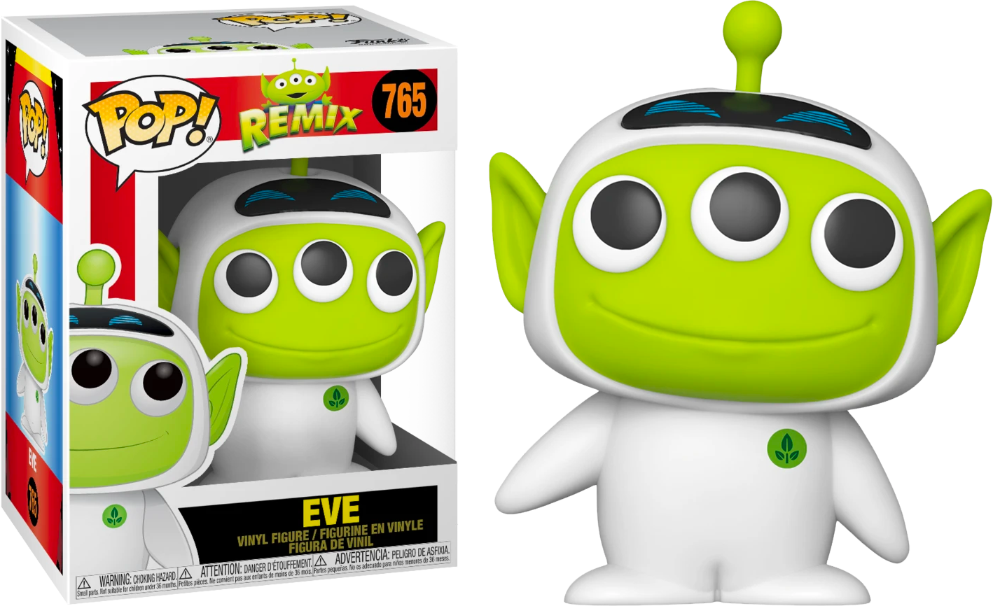 Pixar - Alien Remix Eve Pop! Vinyl Figure