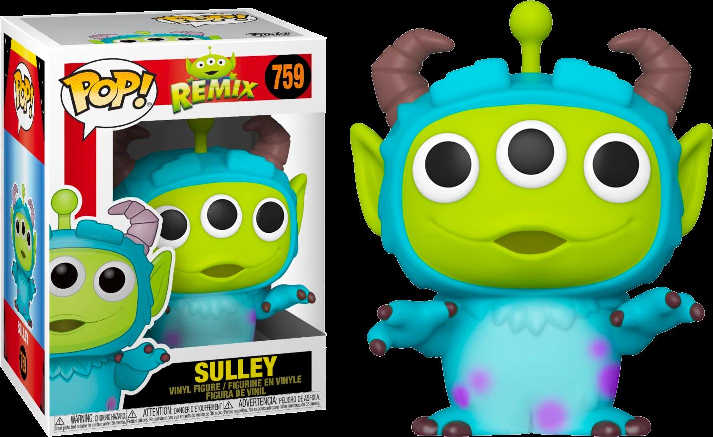 Pixar - Alien Remix Sulley Pop! Vinyl Figure