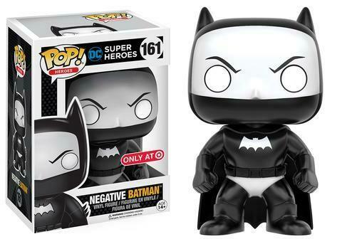 Batman- Negative Batman Pop Vinyl Figure
