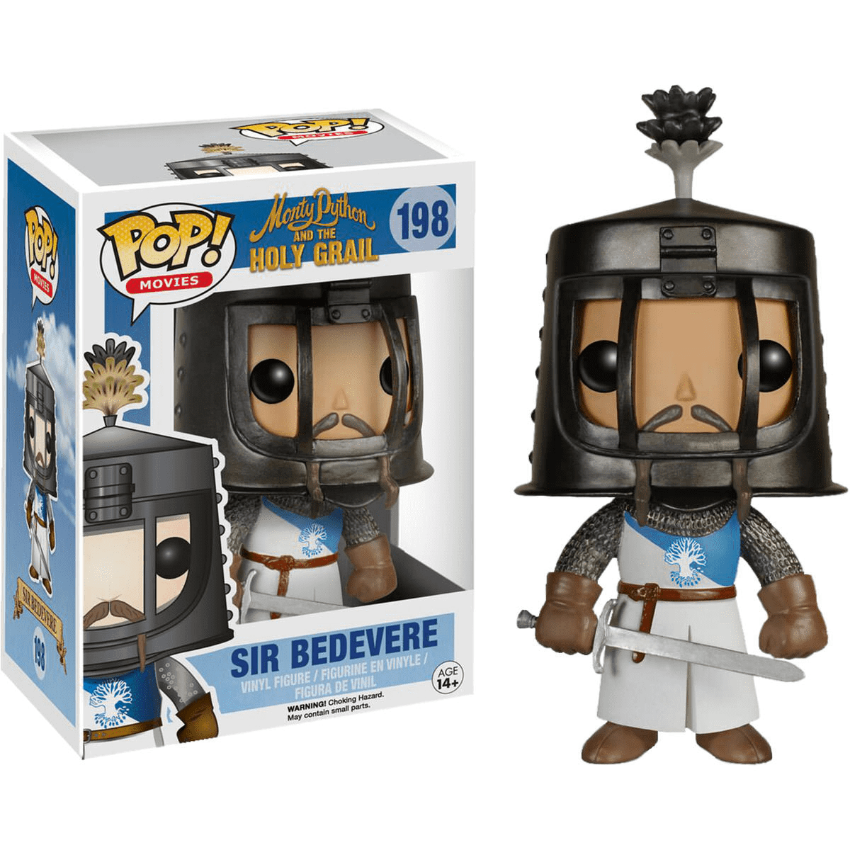 MONTY PYTHON AND THE HOLY GRAIL - SIR BEDEVERE POP! VINYL FIGURE
